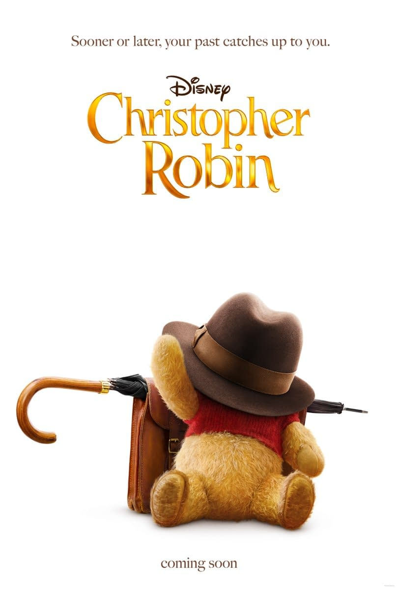 First Poster for Disney's Christopher Robin, Trailer Debuts Tomorrow