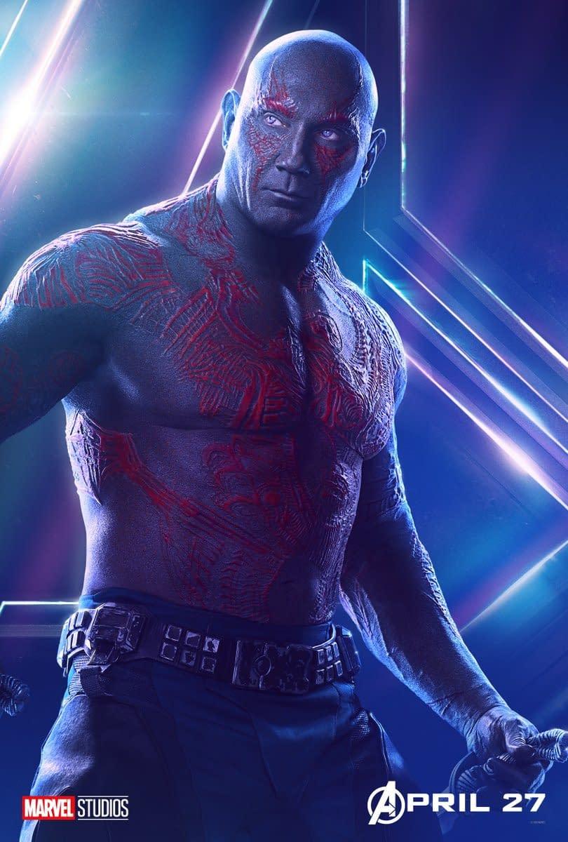 Dave Bautista Says He'll Quit If Disney Scraps James Gunn's Guardians of the Galaxy Vol. 3 Script