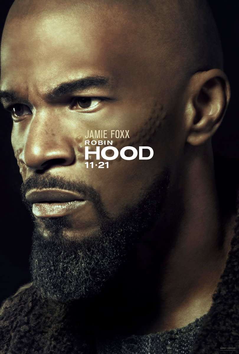 2 Posters for Lionsgate's Upcoming Robin Hood Reboot