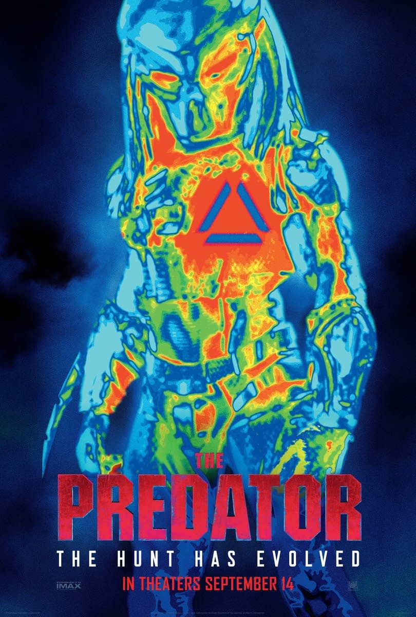 New Poster for The Predator Plus Shane Black Talks Fear in Darkness