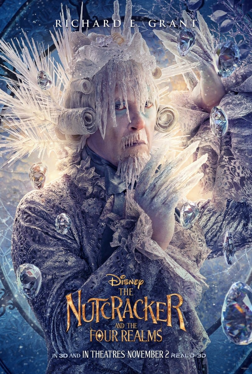 9 New Character Posters for The Nutcracker and the Four Realms