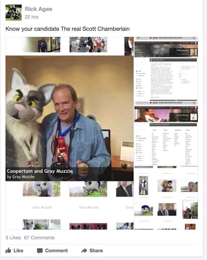 Report: Erotic Fiction-Writing Furry Politician Resigns Amid Unexpected Scandal