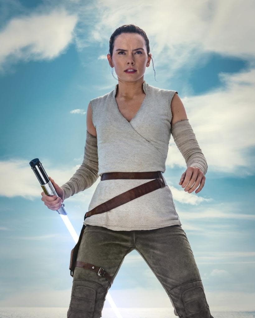 New Image Of Rey From Star Wars The Rise Of Skywalker
