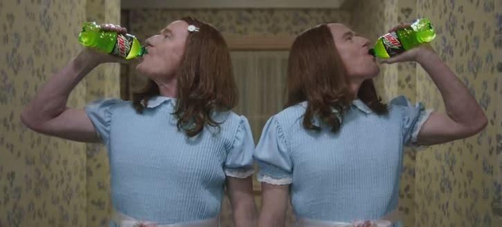 """The Shining"" Gets ""Breaking Bad""/""Black-ish"" Take, Courtesy Mountain Dew Zero [SUPER BOWL AD]"