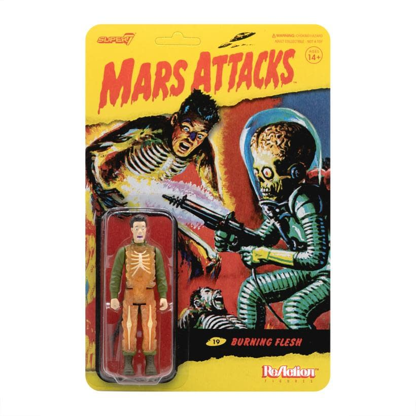 Mars Attacks ReAction Figures Now Available Form Super7