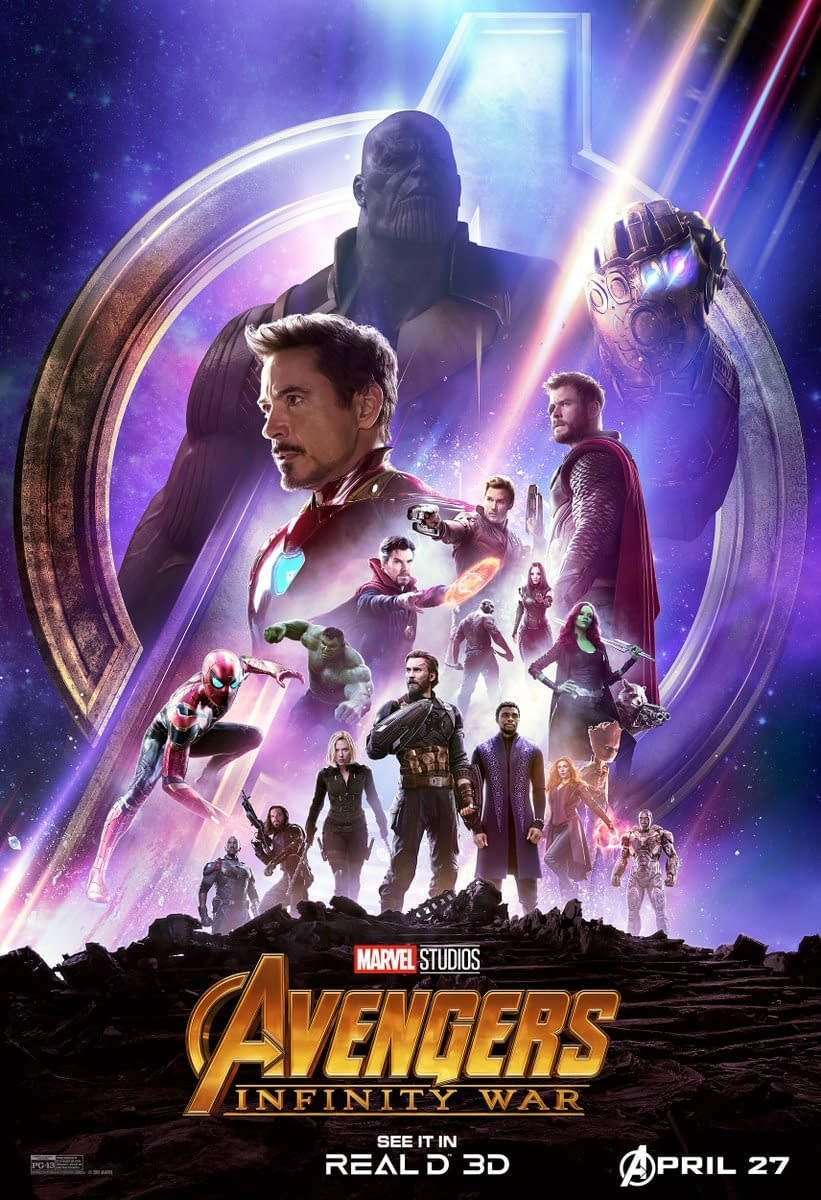 Star-Lord Mocks Thor in This Short Avengers: Infinity War Promo, Plus a Poster