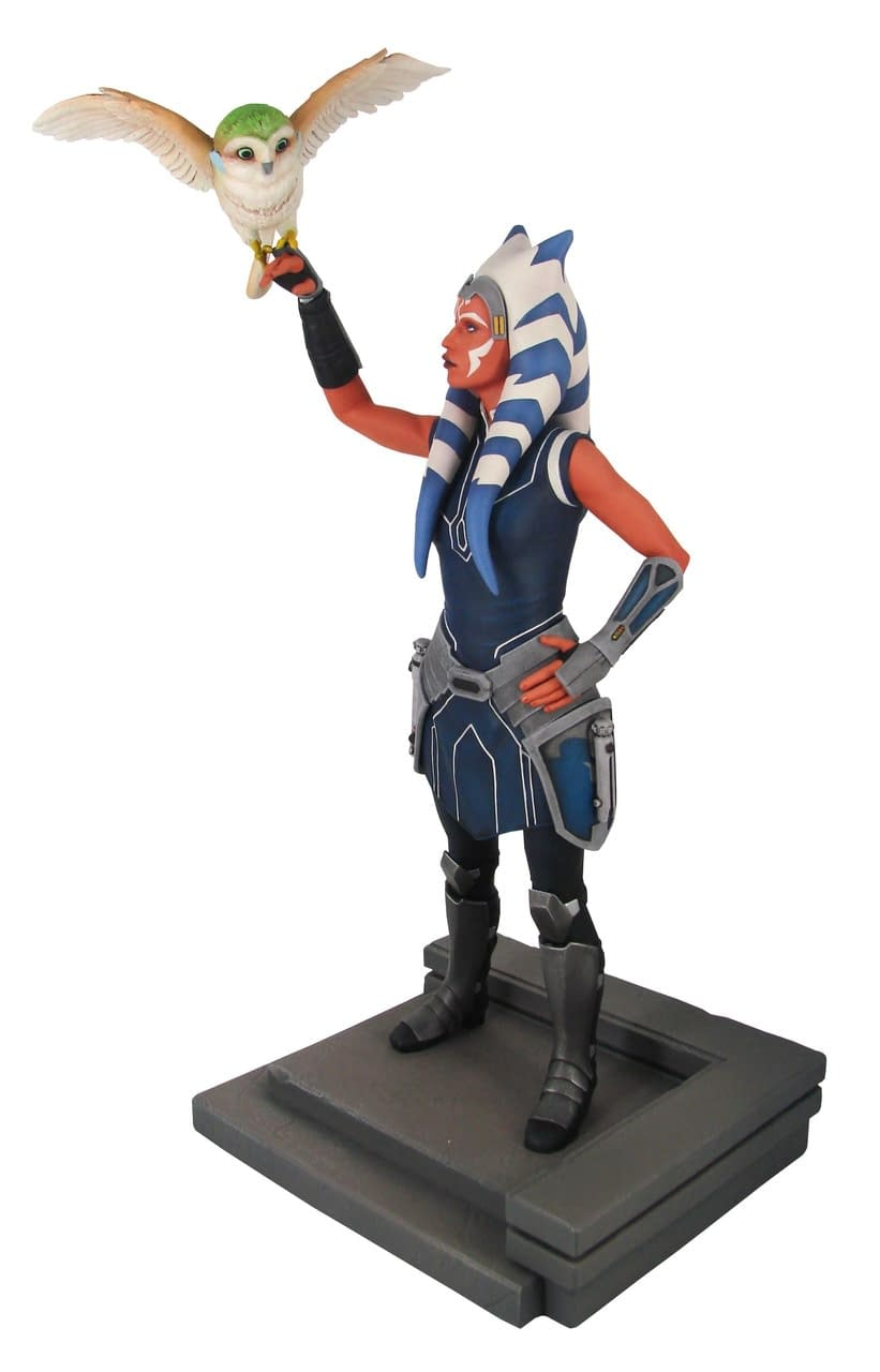 Star Wars The Clone Wars Gets New Statues from Gentle Giant