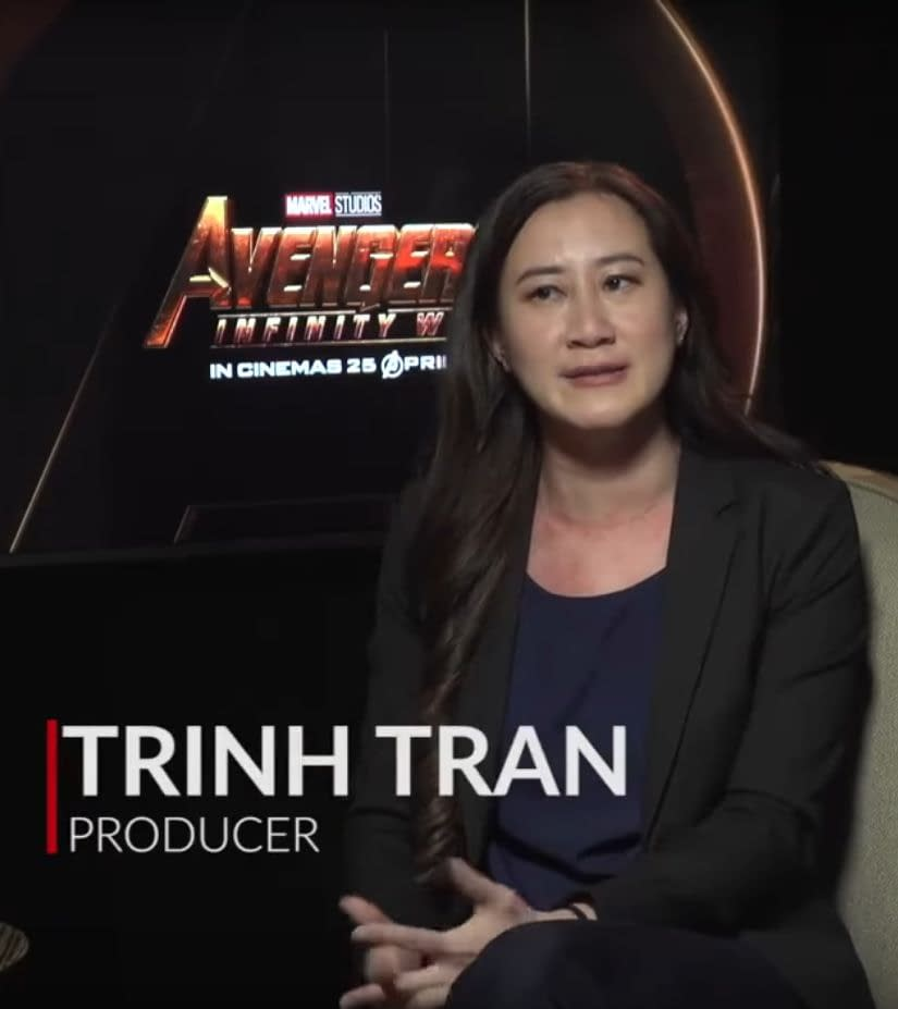 Chatting with 'Avengers: Infinity War' Exec Producer Trinh Tran