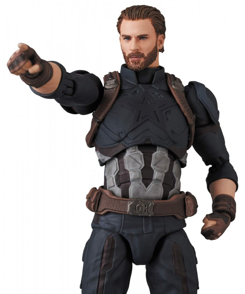 Captain America is the Frontline in the New MAFEX Figure