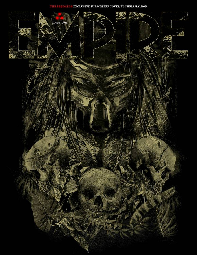Empire's Subscription Cover Features The Predator