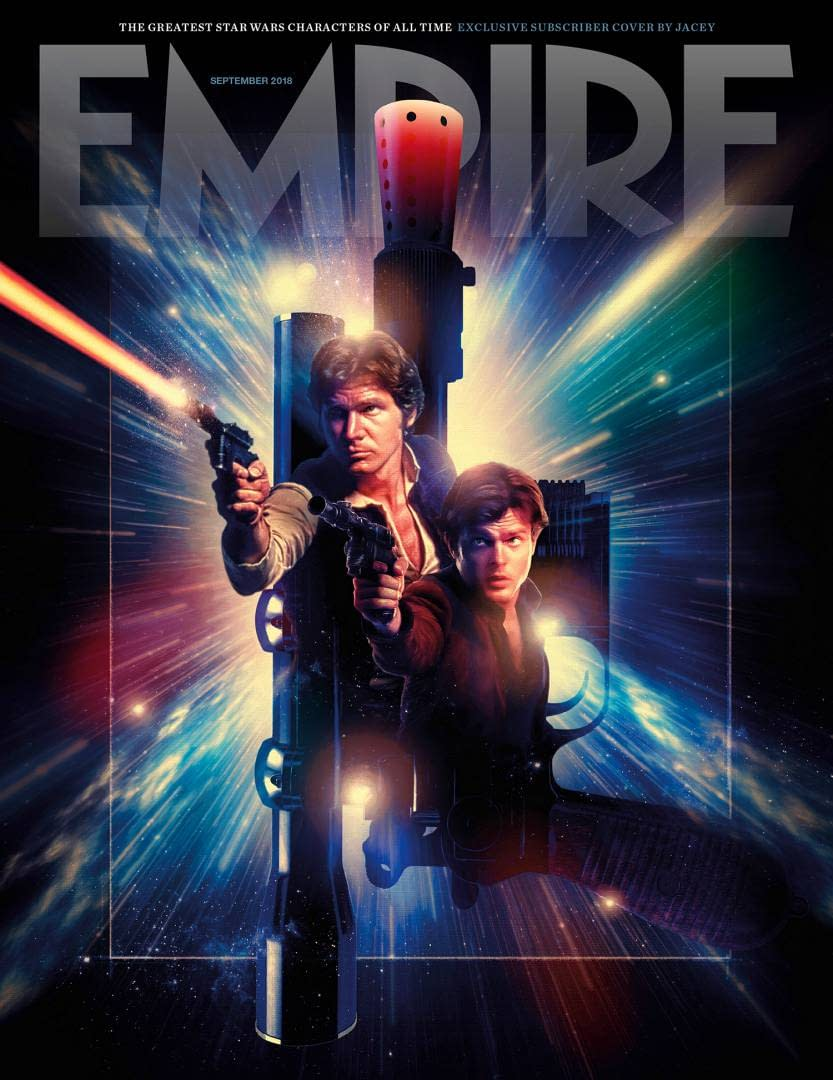 Double Han Solo on Empire Magazine's Subscriber Cover