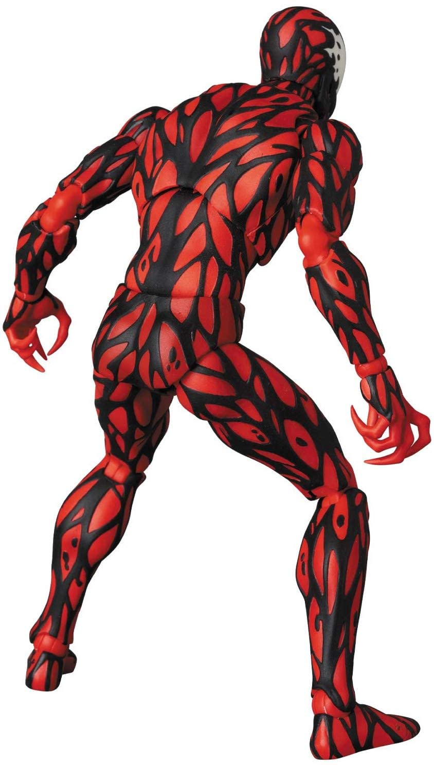 Carnage Is Ready to Create Some Chaos with New MAFEX Figure