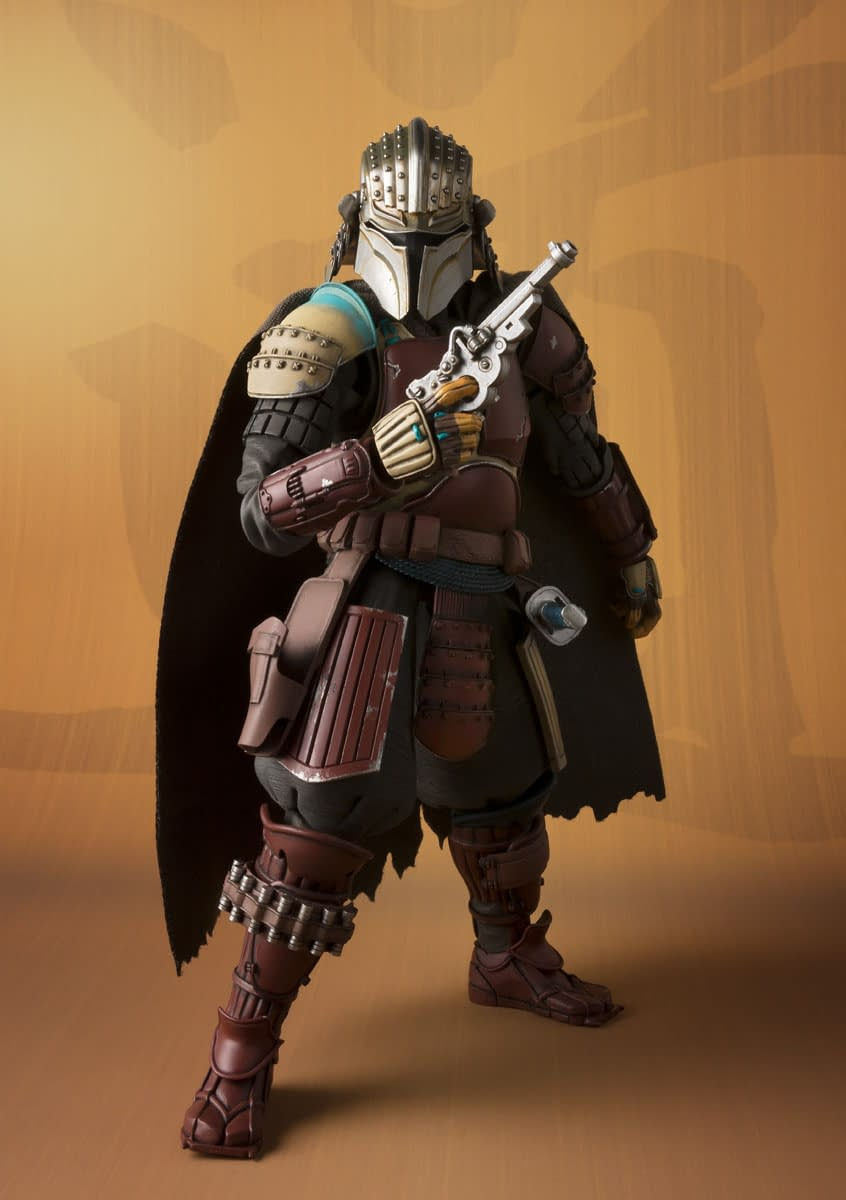The Mandalorian Becomes a Ronin With New Figure from Bandai
