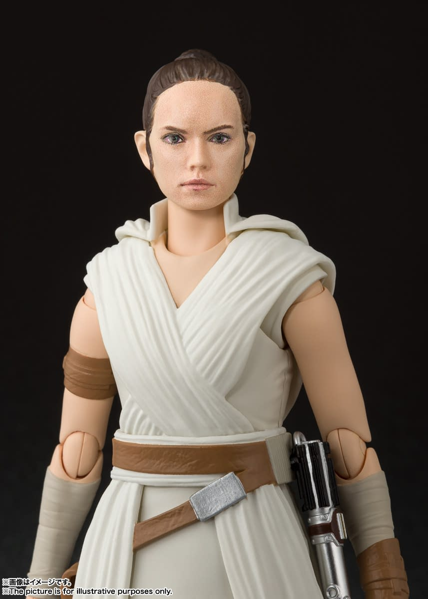 Kylo Ren, Rey, and Sith Trooper Get S.H Figuarts Figures