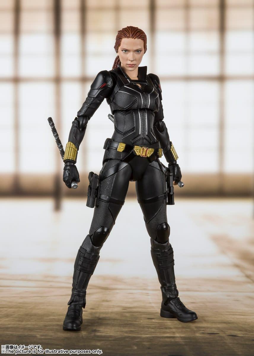 Black Widow Get A New S.H. Figuarts Figure