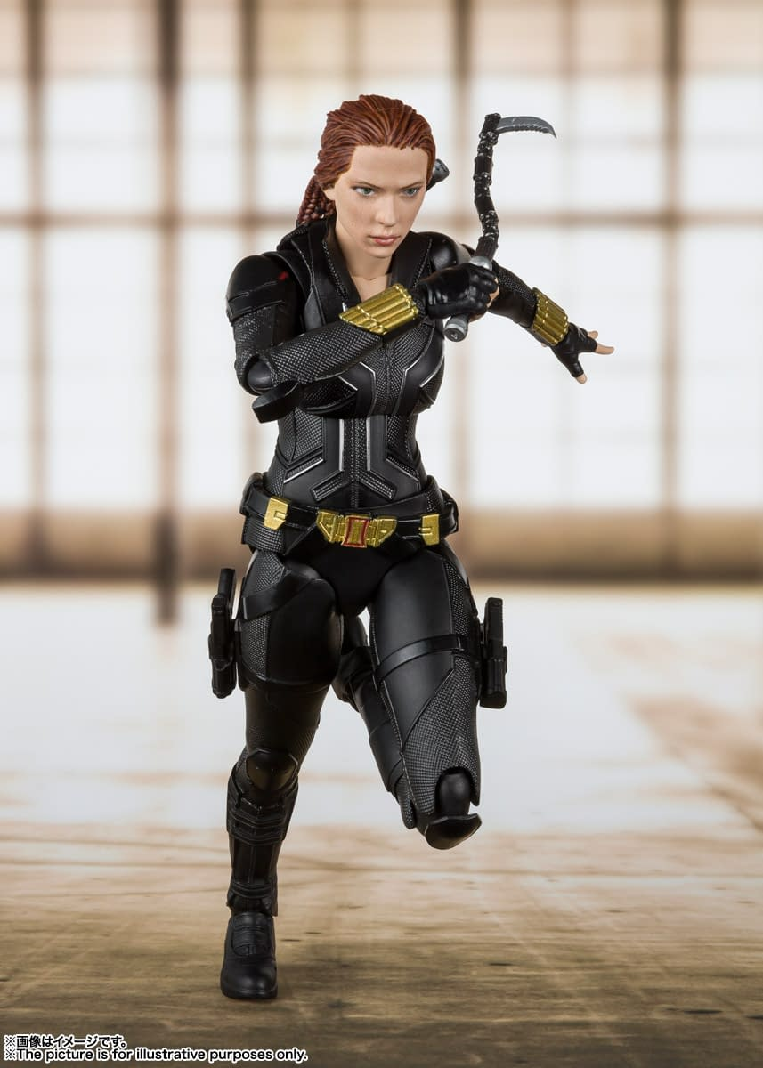 Black Widow Returns With A New S H Figuarts Figure