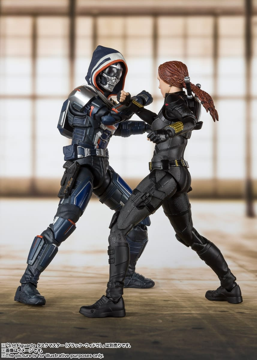 Black Widow Returns with A New S.H. Figuarts Figure
