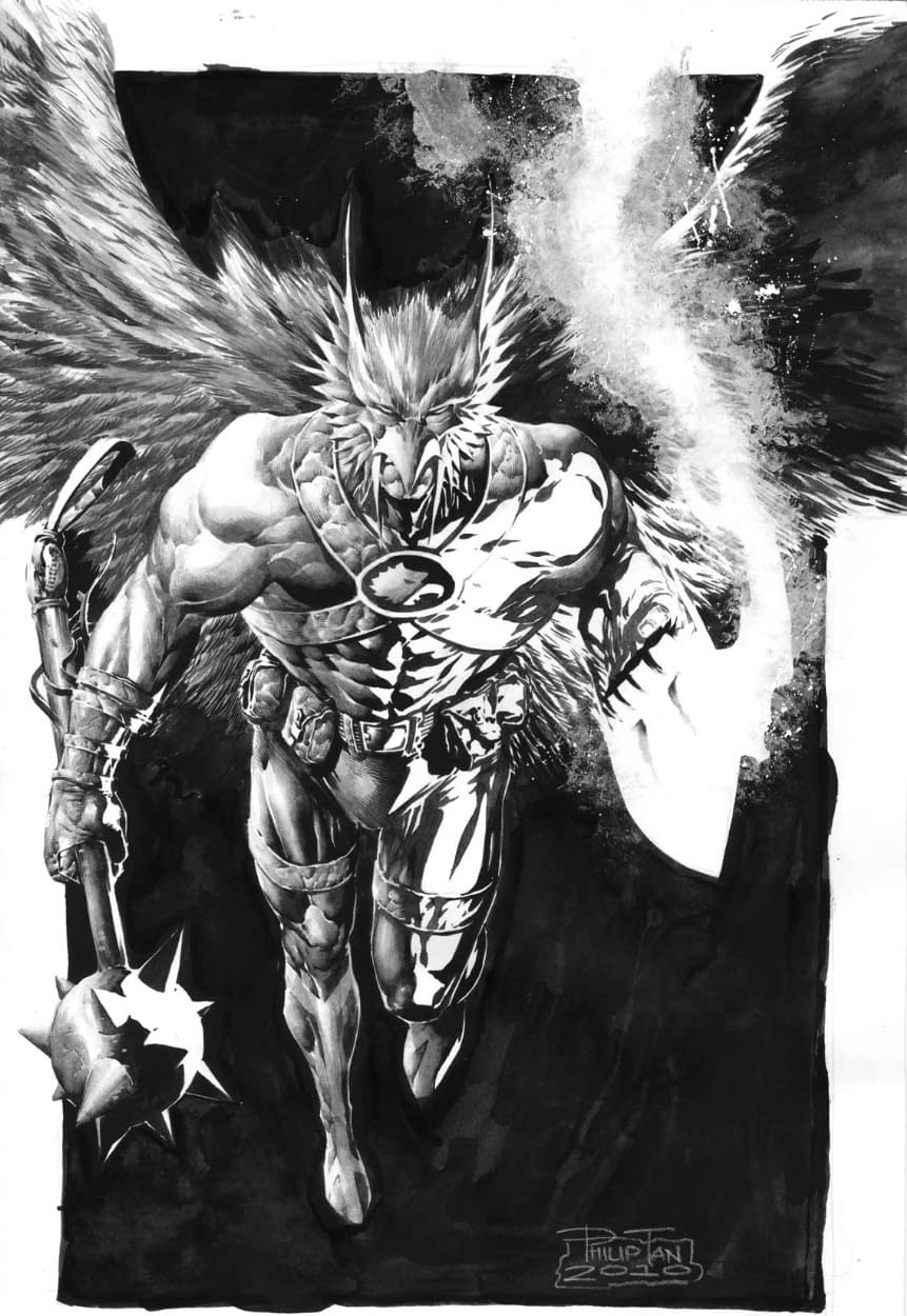 James Robinson And Philip Tan – The New Hawkman Team