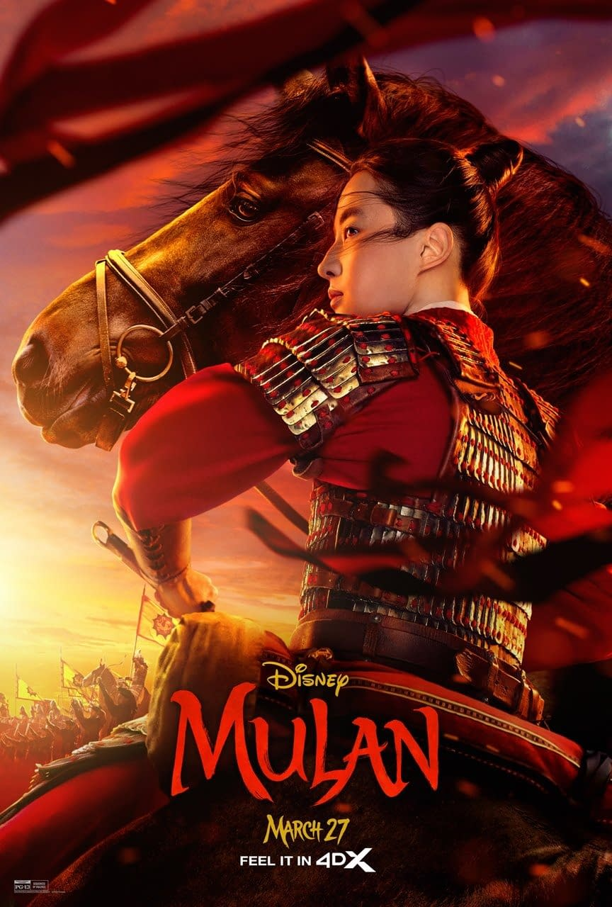 "Yet Another ""Mulan"" TV Spot and Poster"