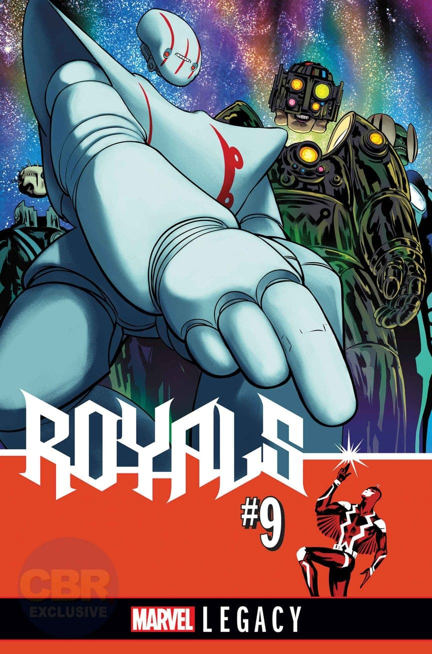 Javier Rodriguez Moves The Needle With Al Ewing For Marvel Legacy In Royals, Exploring The Kree's Progenitors