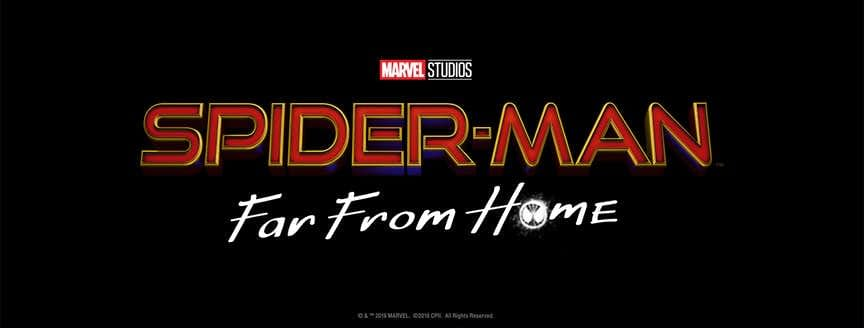 Sony and Marvel Have Released the Official Logo for Spider-Man: Far From Home
