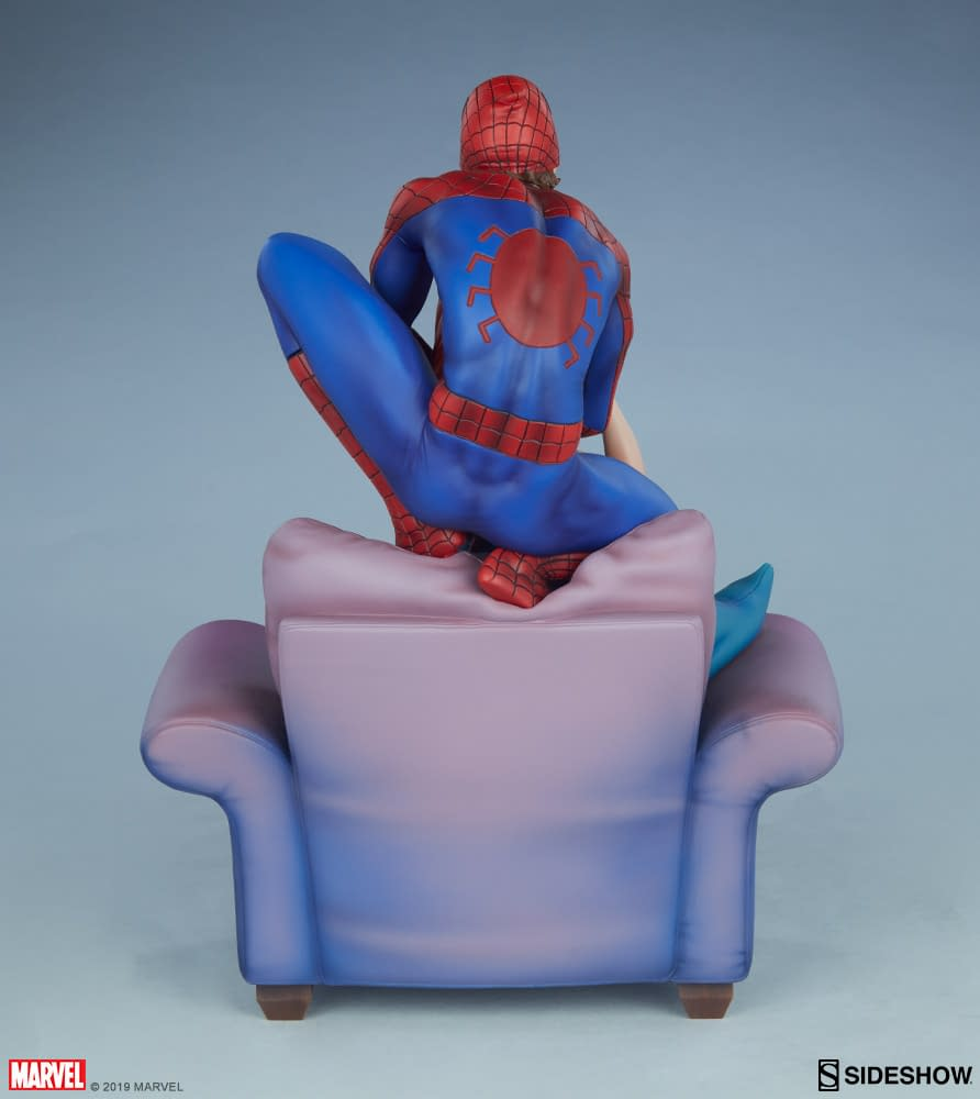 Spider-Man and Mary Jane are together again in new sideshow statue