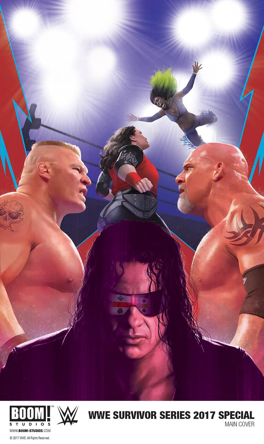 BOOM! Announces WWE Survivor Series Special; Plus An Alternate Reality Montreal Screwjob?!