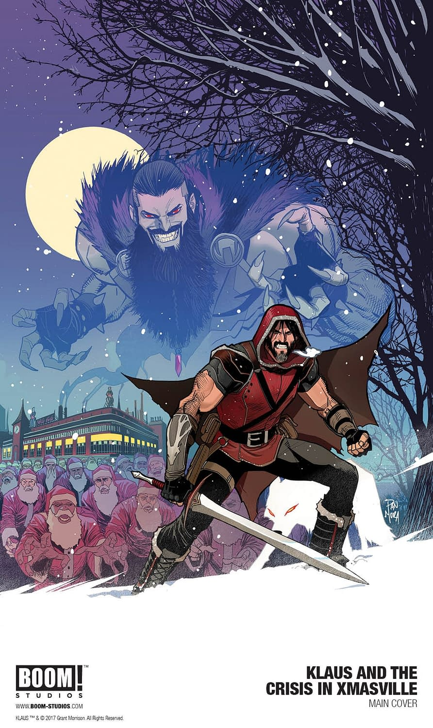 Grant Morrison's Klaus Returns Again For Klaus And The Crisis In Xmasville