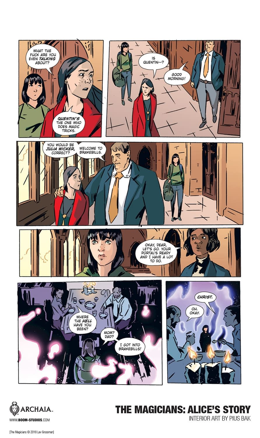 22 Pages From This Summer's The Magicians: Alice's Story OGN by Lilah Sturges and Pius Bak
