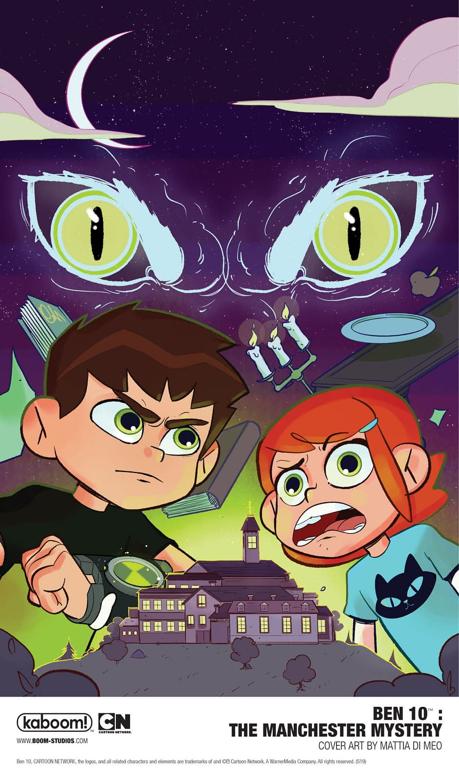 Manchester Mystery: Another Ben 10 OGN for 2020