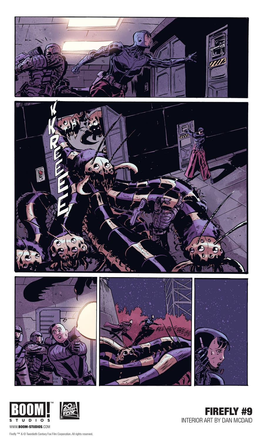 5 Pages From September's Firefly #9