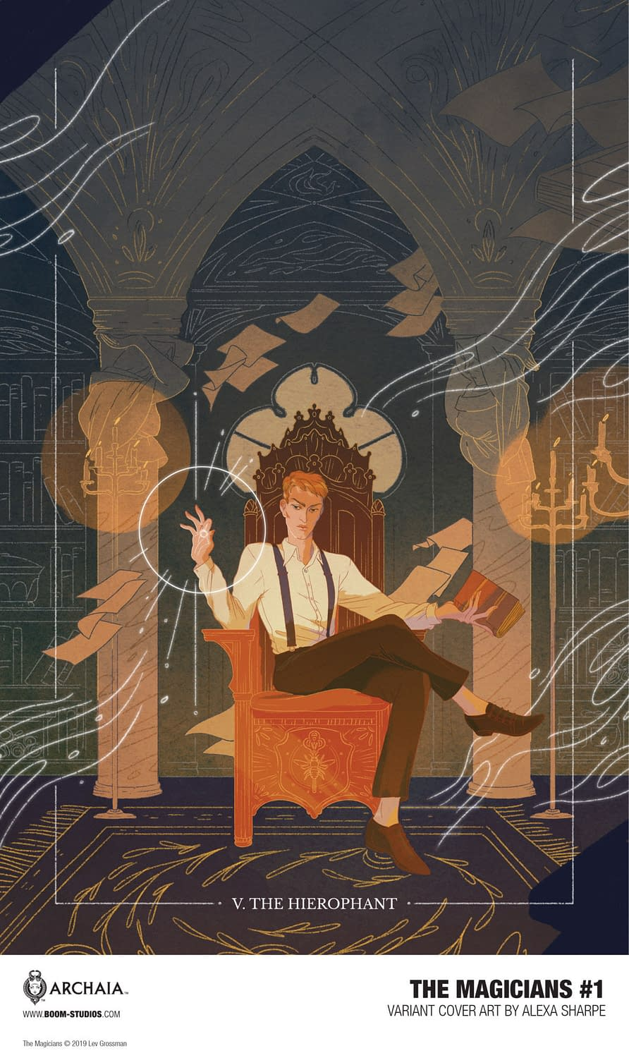 Lev Grossman Introduces New Class of The Magicians in New BOOM! Comic