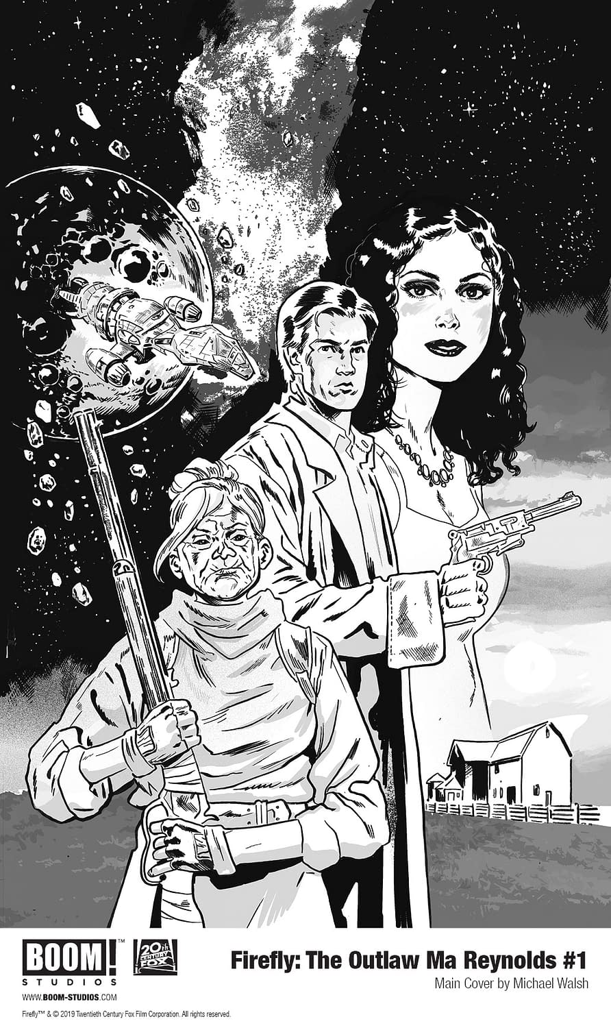 First Look at Firefly Comic Starring Nathan Fillion's Mom