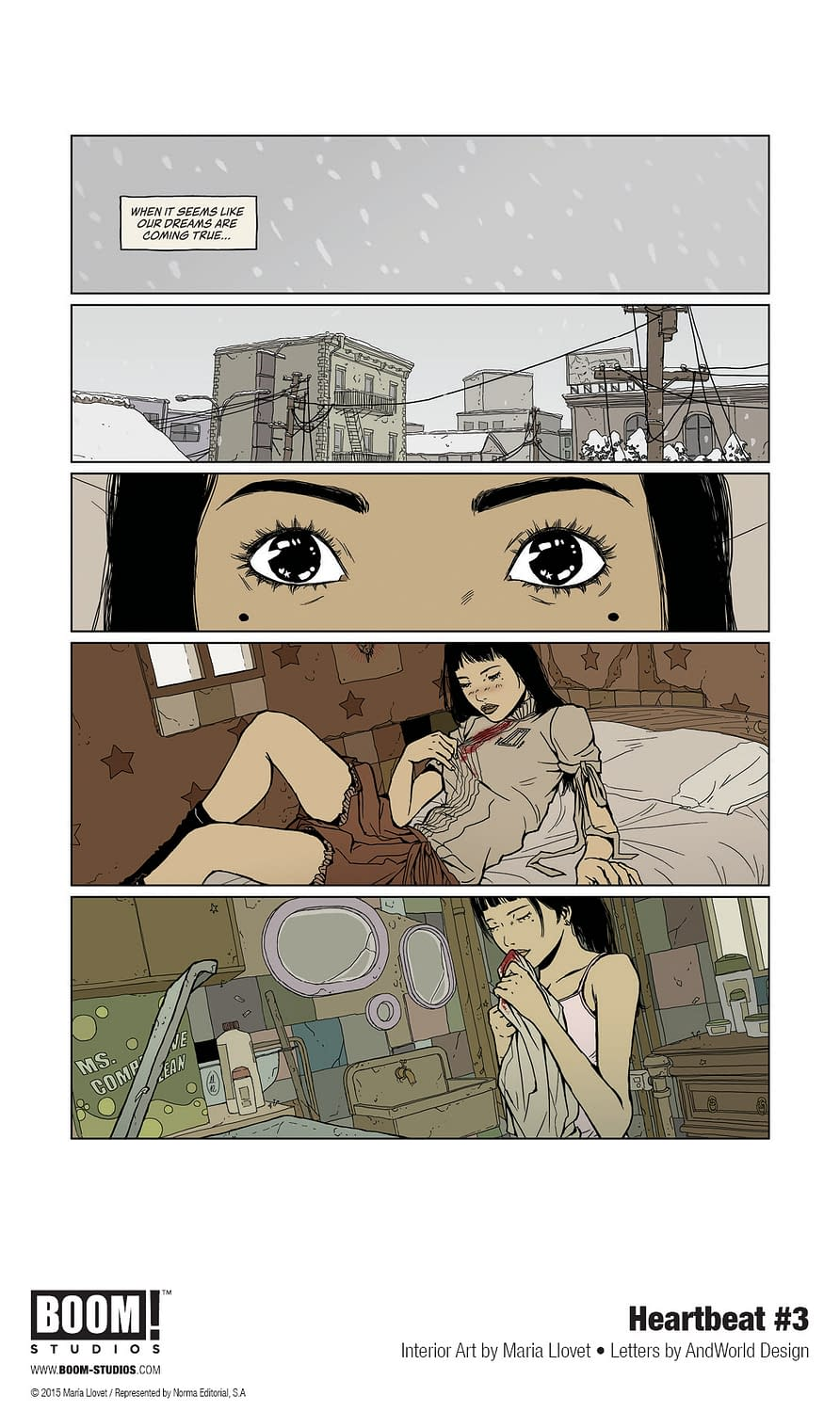 Maria Llovet's Heartbeat #3 [Preview]