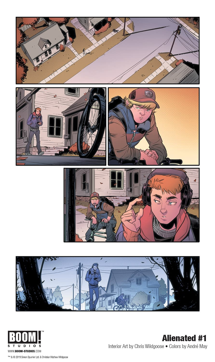 BOOM! Shares First Look at Si Spurrier and Chris Wildgoose's Alienated #1