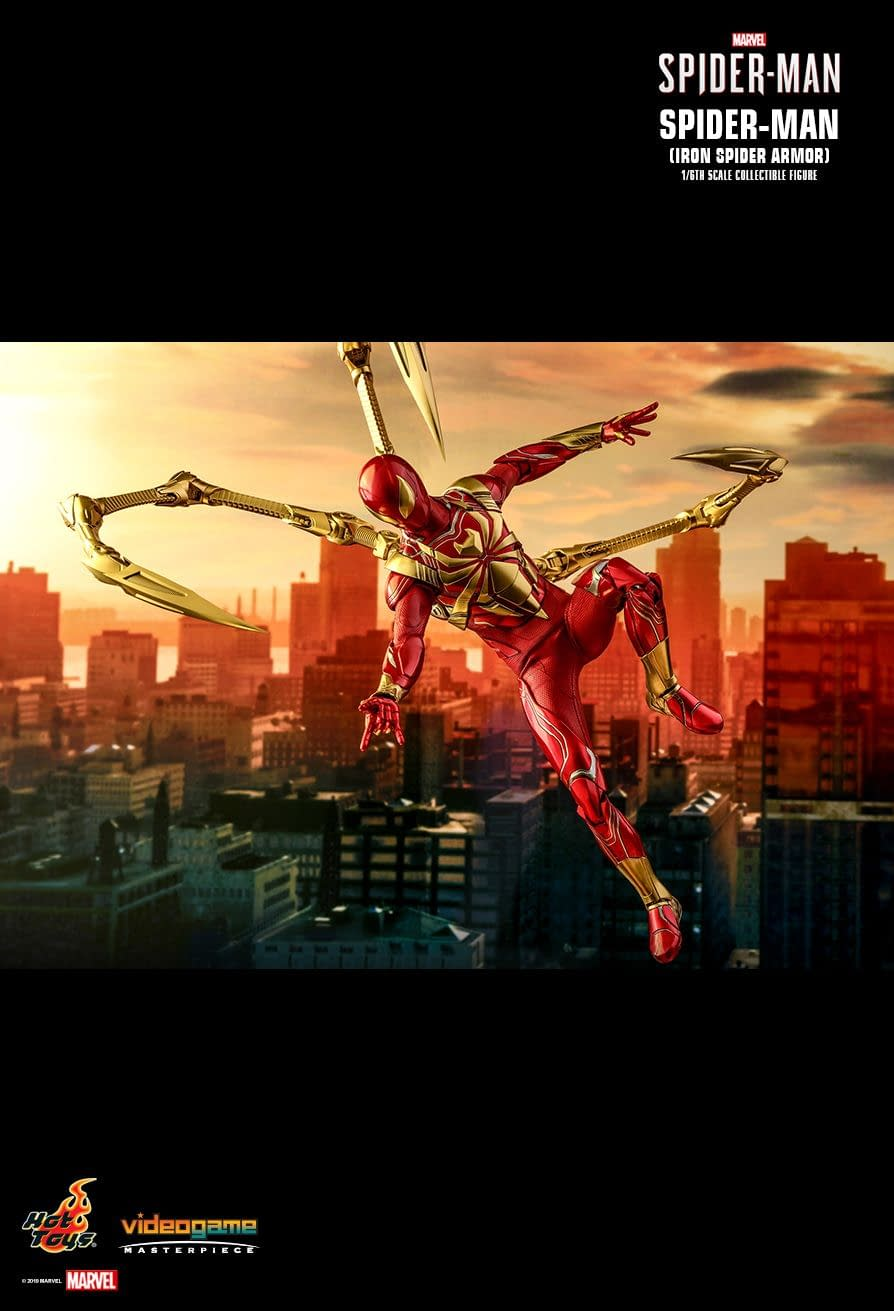 Iron Spider Jumps into Action with New Hot Toys Figure