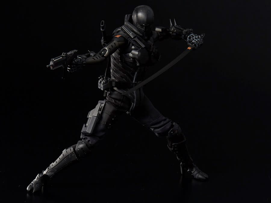 G.I. Joe x TOA Heavy Industries 1/6 Scale PX Previews Exclusive Figures Snake Eyes 1000Toys