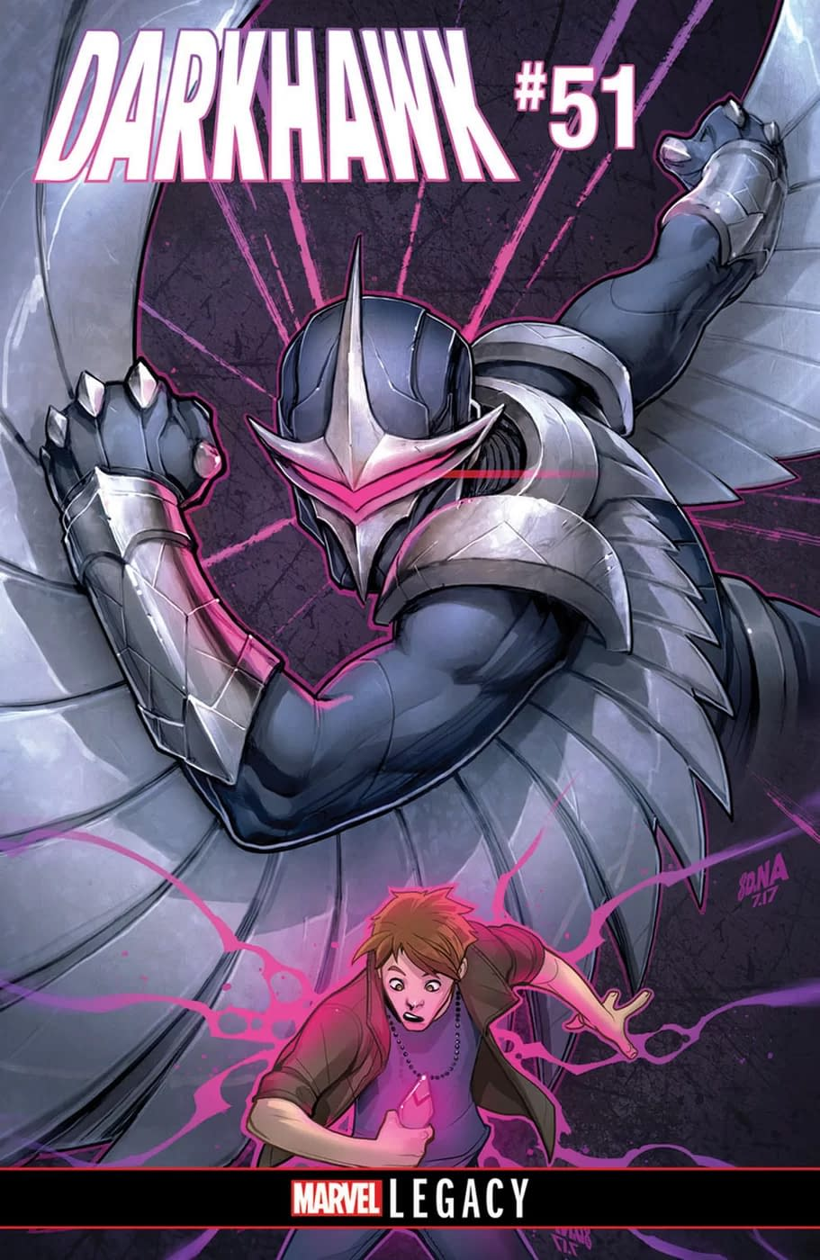 Bowers, Sims, And Walker Bring Back Darkhawk For One Issue Only In Marvel Legacy