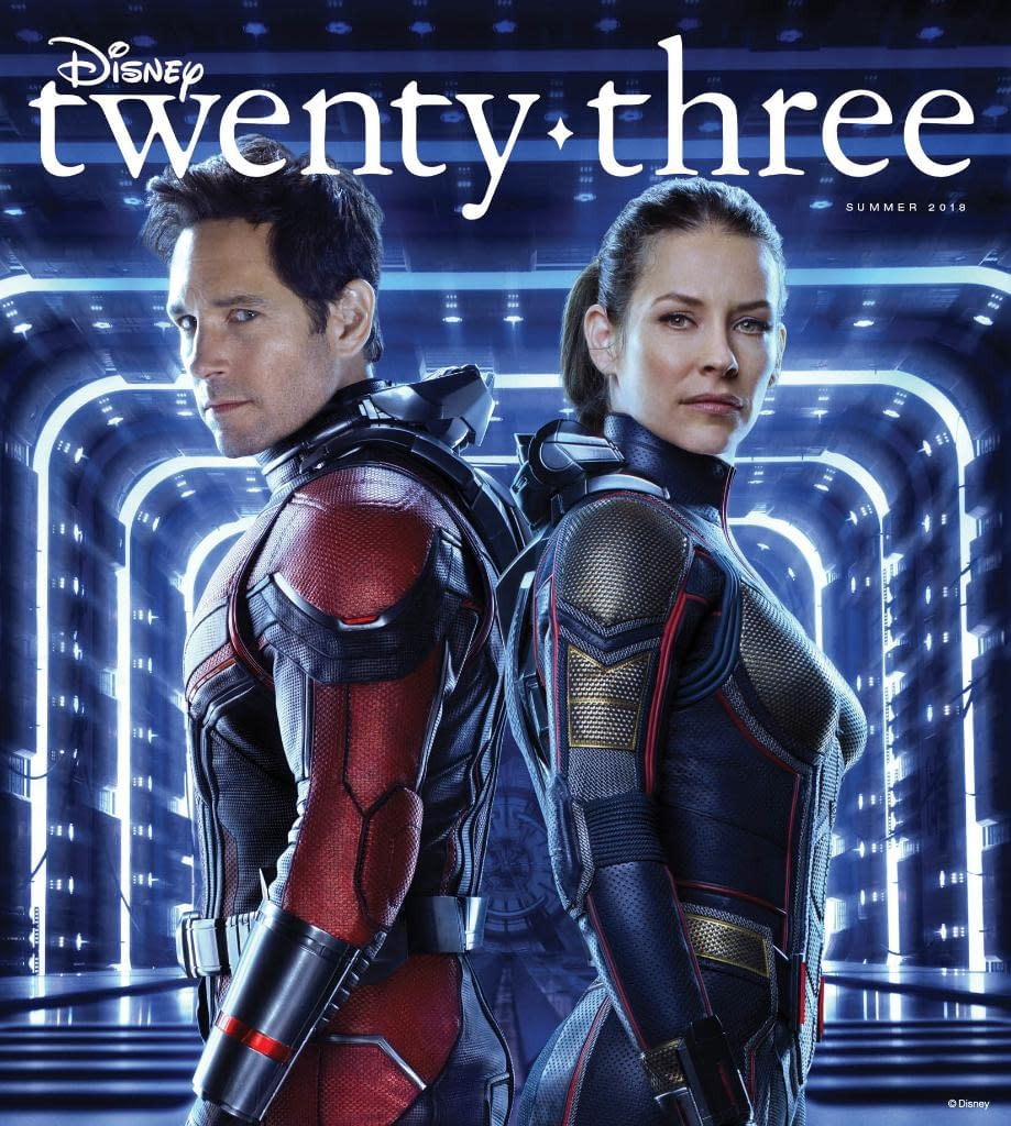 Ant-Man and the Wasp, Incredibles, and More on the Cover of D23 Magazine