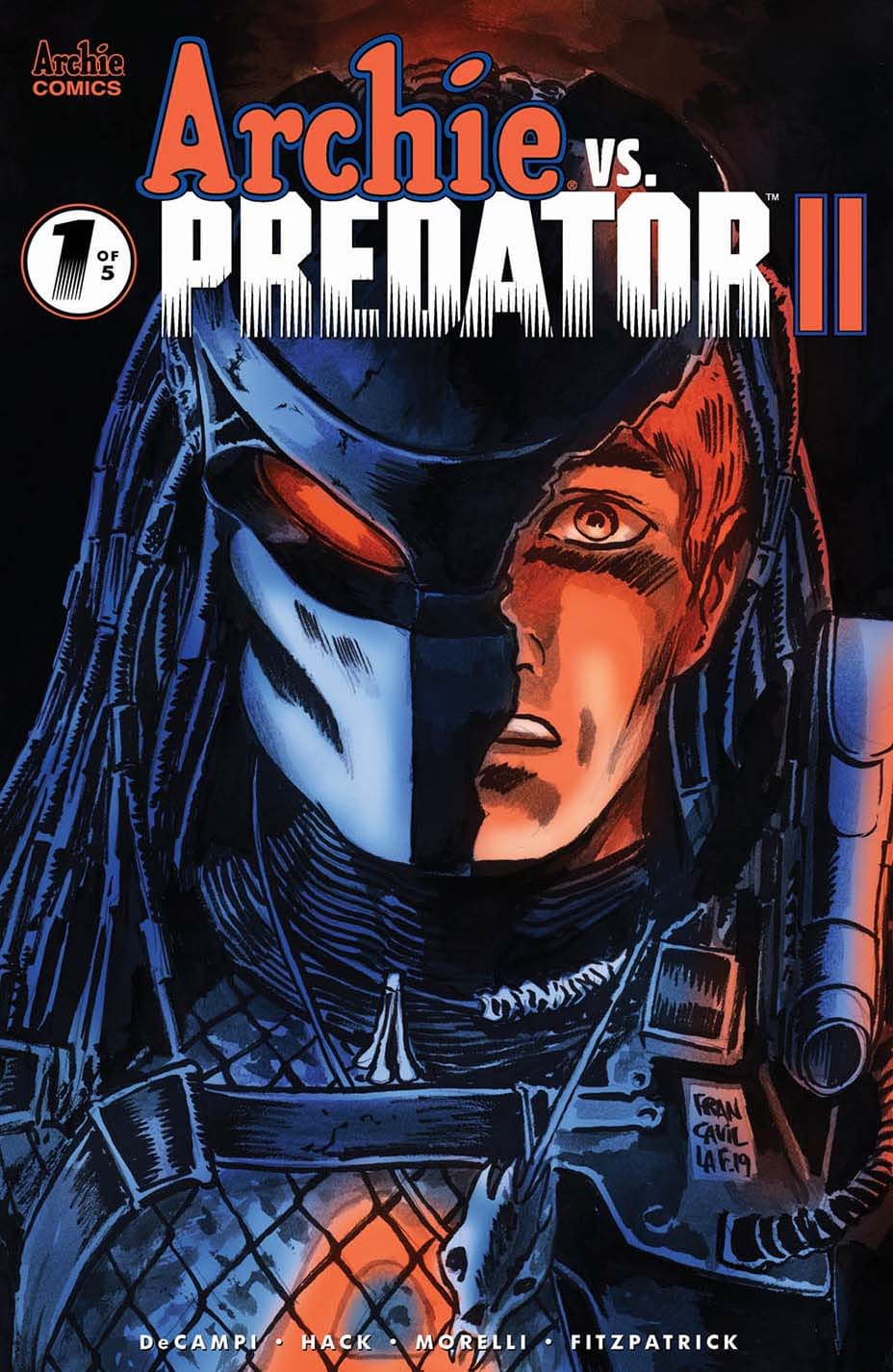 Alex de Campi and Robert Hack Make Meta-Commentary on Reboots for Archie vs. Predator Sequel