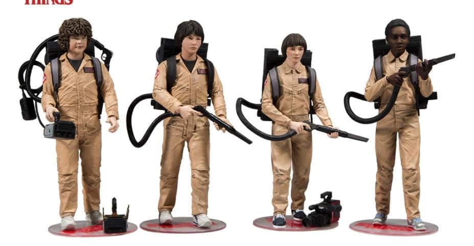 Stranger Things Ghostbusters Figure Box Set