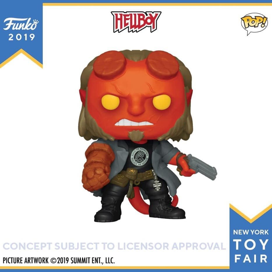 Funko New York Toy Fair Reveals: Hellboy, Pez, X-Men, Ad Icons, and More!