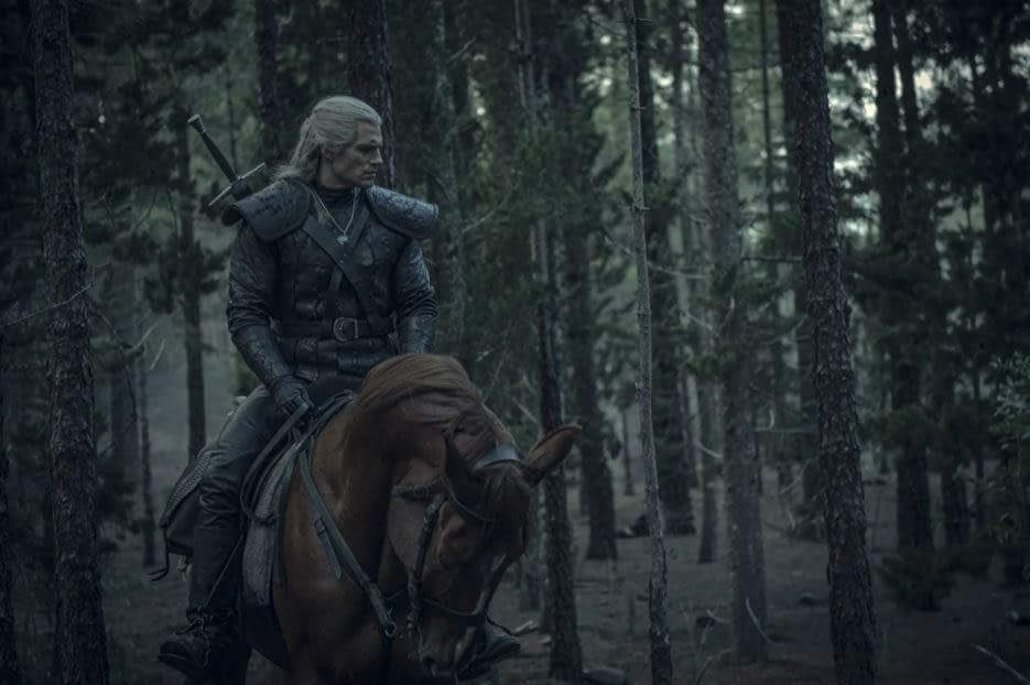 """The Witcher"": Henry Cavill's Geralt Rocks ""Pre-Morning Coffee Face"" in New Netflix Images [PREVIEW]"