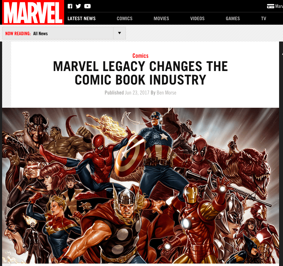 Industry Changed So Much It's Pretty Much Back To Normal In Eighth Set Of Marvel Legacy Title And Homage Cover Reveals