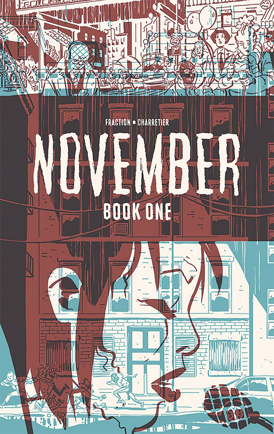 How November by Matt Fraction and Elsa Charretier Will be Looking in March…