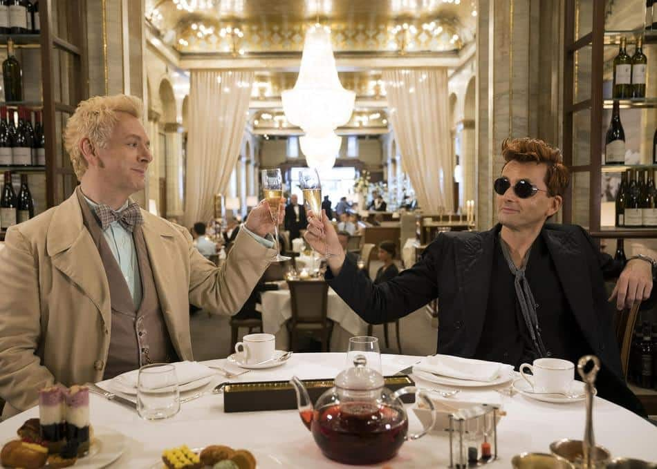 'Good Omens': Amanda Palmer Weaves a Tale of Neil Gaiman, a Bow-Tie and a Premiere Saved