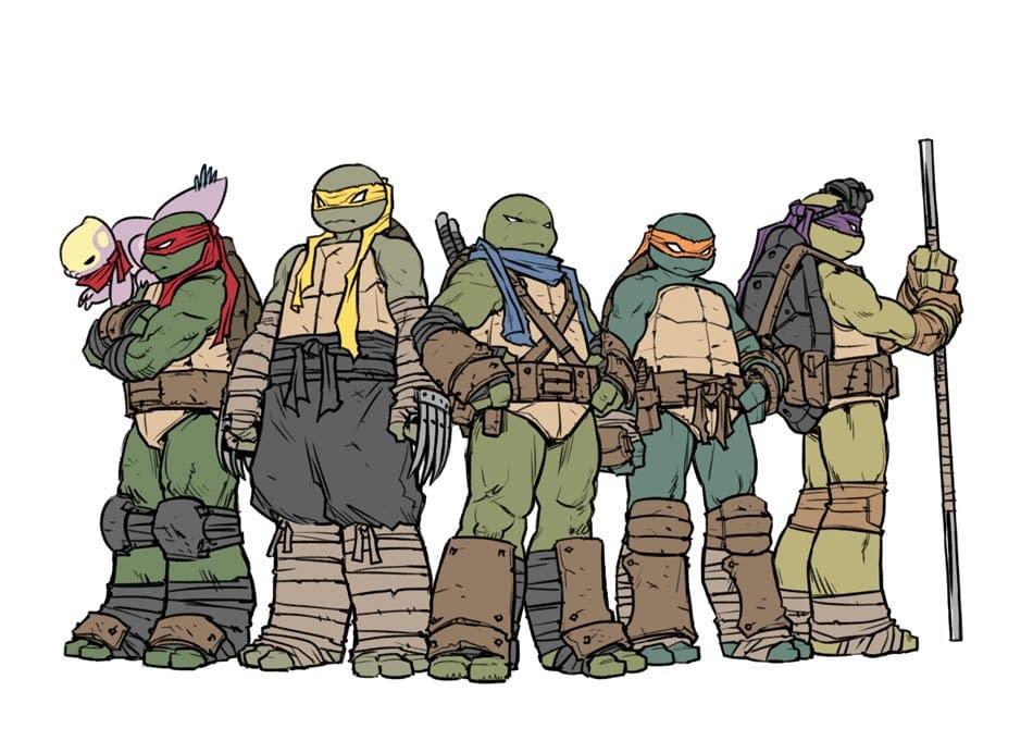 Sophie Campbell Shares Concept Art for Jennika, TMNT's New Female Turtle