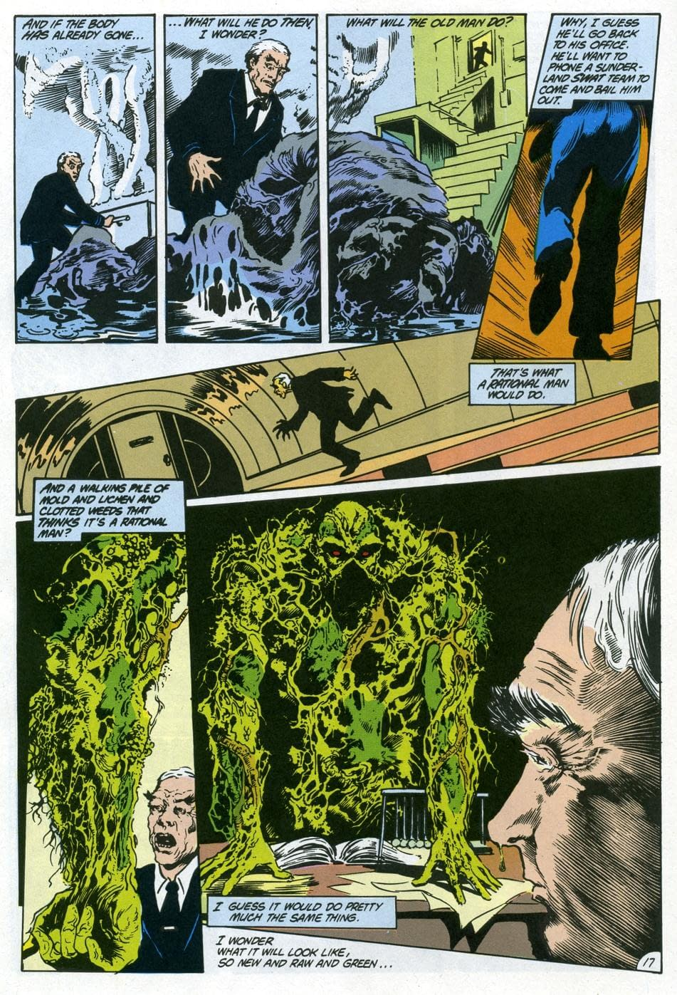 """Swamp Thing"" Learns Nothing from Alan Moore's ""Anatomy Lesson"" [OPINION]"