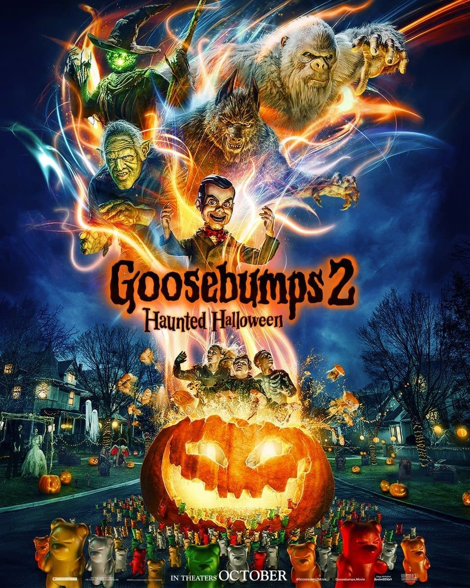 First Trailer and Poster for Goosebumps 2: Haunted Halloween