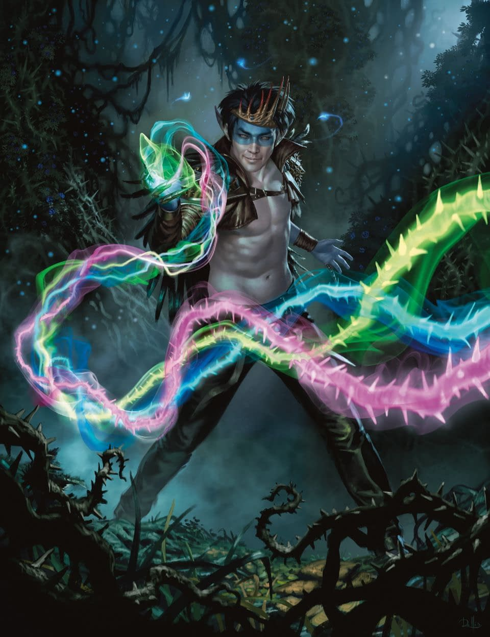 Oko, a new Magic: the Gathering Planeswalker